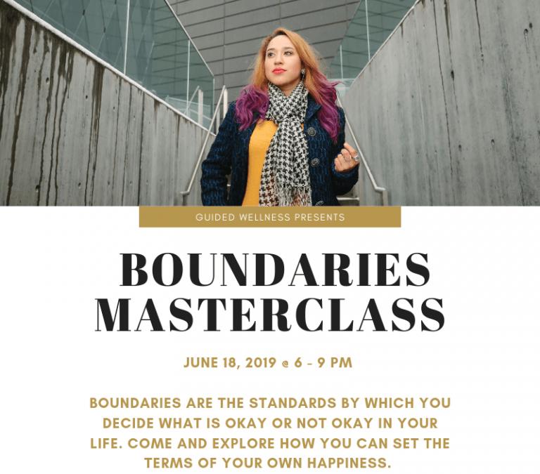 Personal Boundaries Masterclass – Guided Wellness